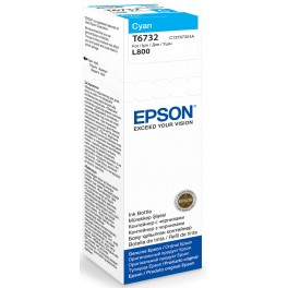 Epson T6732 70ml Cyan ink bottle