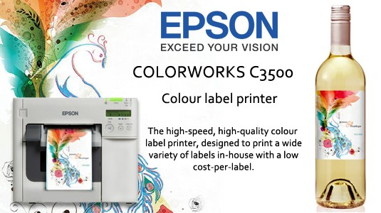 Epson C3500 Label Printer