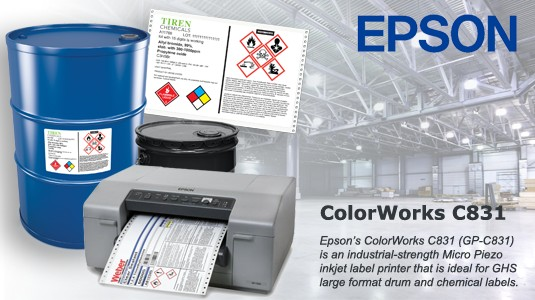 Epson C831 Label Printer